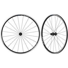 Shimano Road WH-RS100-CL Wheelset QR 100mm/QR 130mm, black